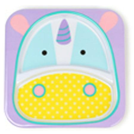 Skip Hop Zoo Divided Plate - Unicorn