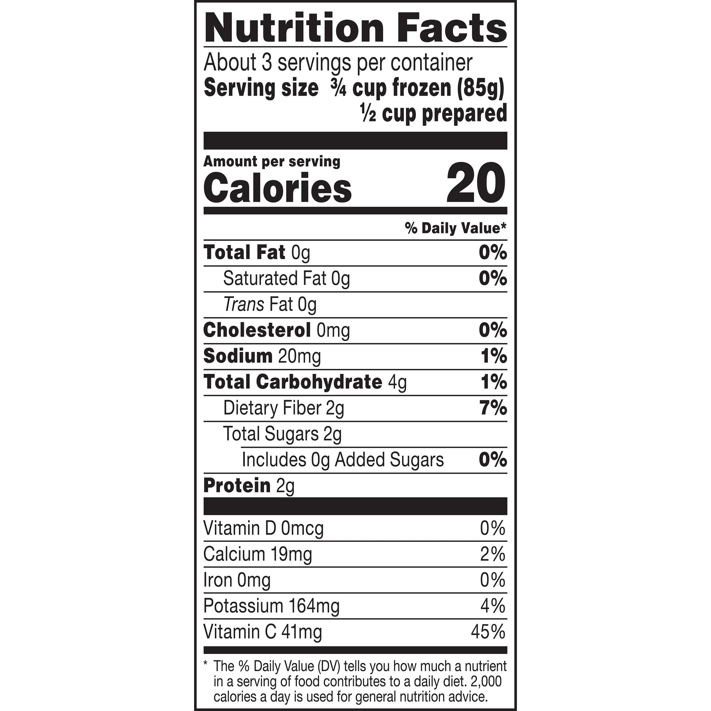 B & G Foods Green Giant Riced Veggies Cauliflower, 12 oz - Walmart com