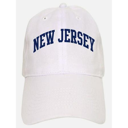 9595cad1835 CafePress - Blue Classic New Jersey - Printed Adjustable Baseball Cap -  Walmart.com