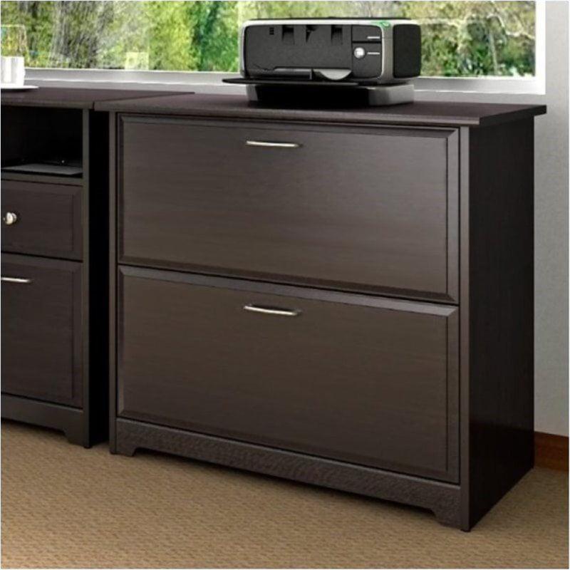 Bowery Hill 2 Drawer Lateral File Cabinet in Espresso Oak - image 1 de 4