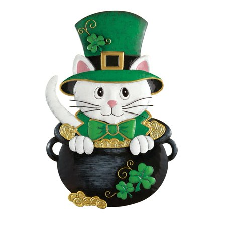 St Patrick Decorations (Collections Etc St. Patrick's Day Cat Door)