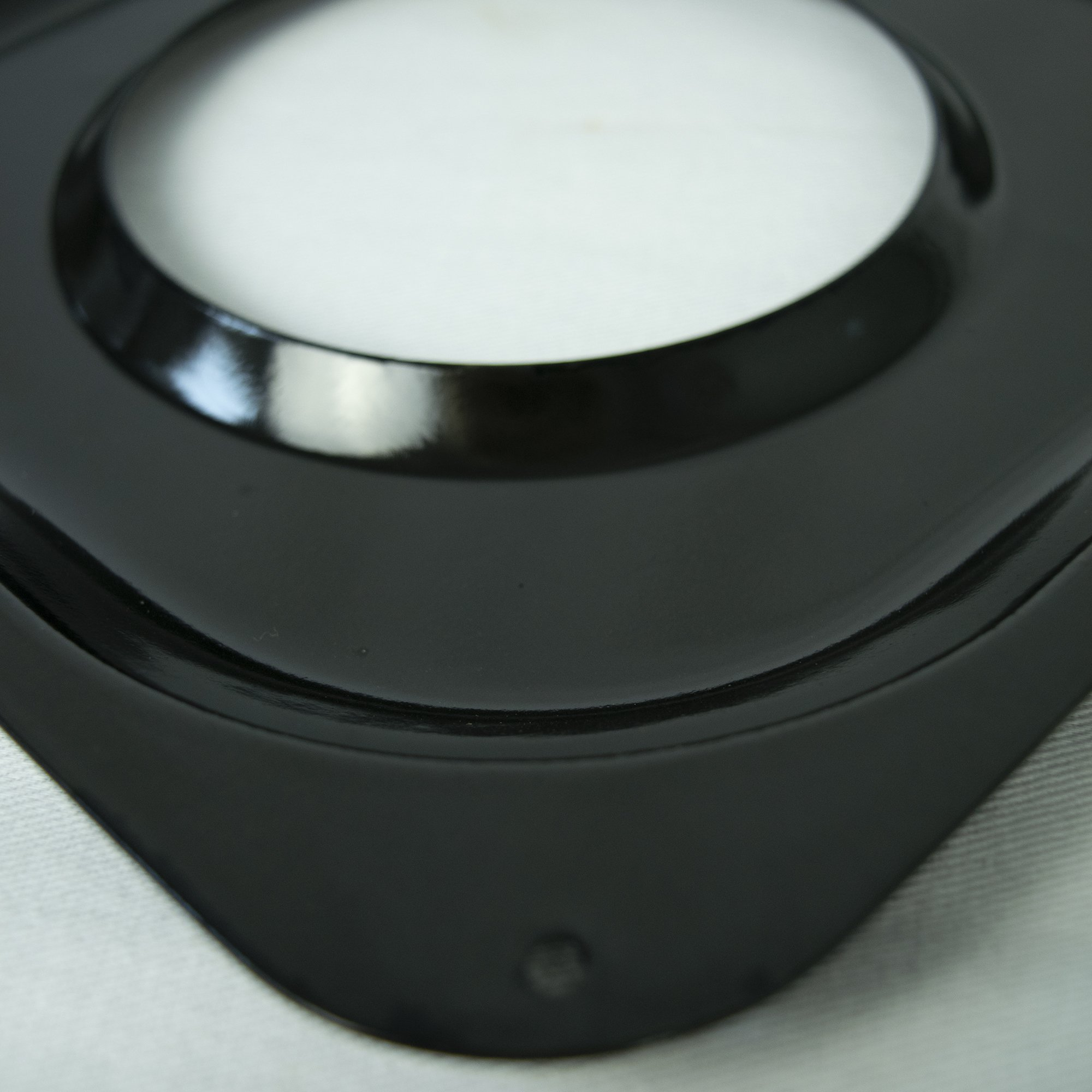 Range Kleen Black Porcelain Rectangular Gas Stove Drip