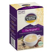 Oregon Chai, Original Chai Tea Latte, Single Serve Packets, 8 Ct