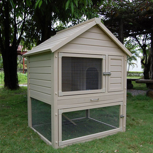 New Age Pet ecoChoice Huntington Townhouse Small Animal Hutch