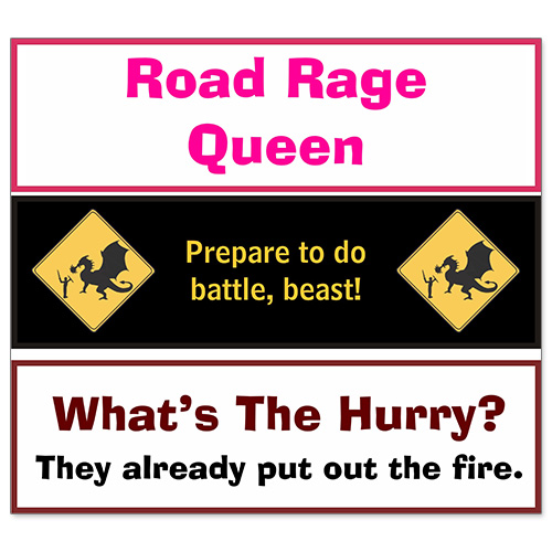 Car Bumper Sticker - What The Hurry