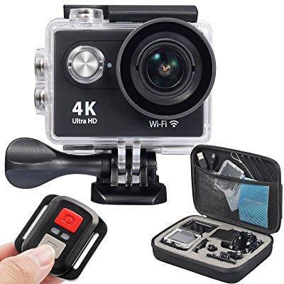 onlyee 4k wifi sports action camera ultra hd waterproof d...