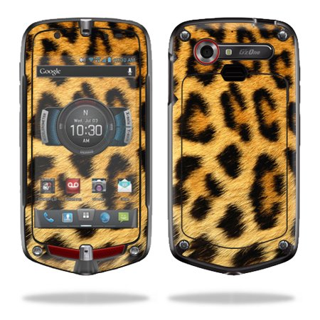 Mightyskins Protective Vinyl Skin Decal Cover For Casio Gzone Commando 4G Lte C811 Gz1 Verizon Cell Phone Wrap Sticker Skins Cheetah