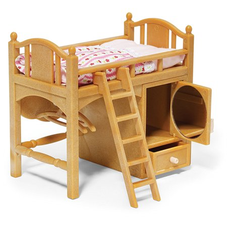 Calico Critters Loft Bed - Calico Critters Kitchen Set