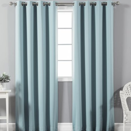 Best Home Fashion, Inc. Solid Blackout Thermal Rod Pocket Single Curtain (Best Treatment For Gum Recession)