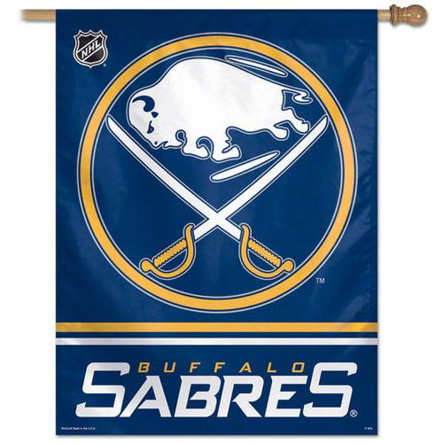 NHL - Buffalo Sabres Vertical Flag: 27x37 Banner