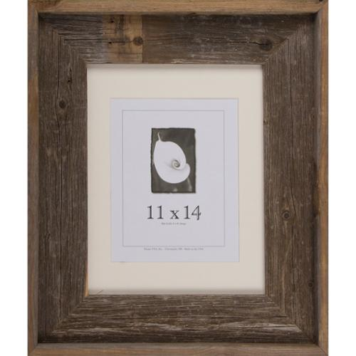 Frame USA  Barnwood Signature Series Grey/White Wood Picture Frame (11 x 14)
