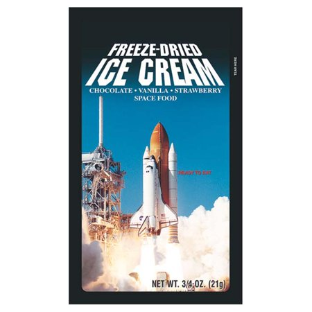 Space Food 58-524 Ice Cream Sandwich - Space Food