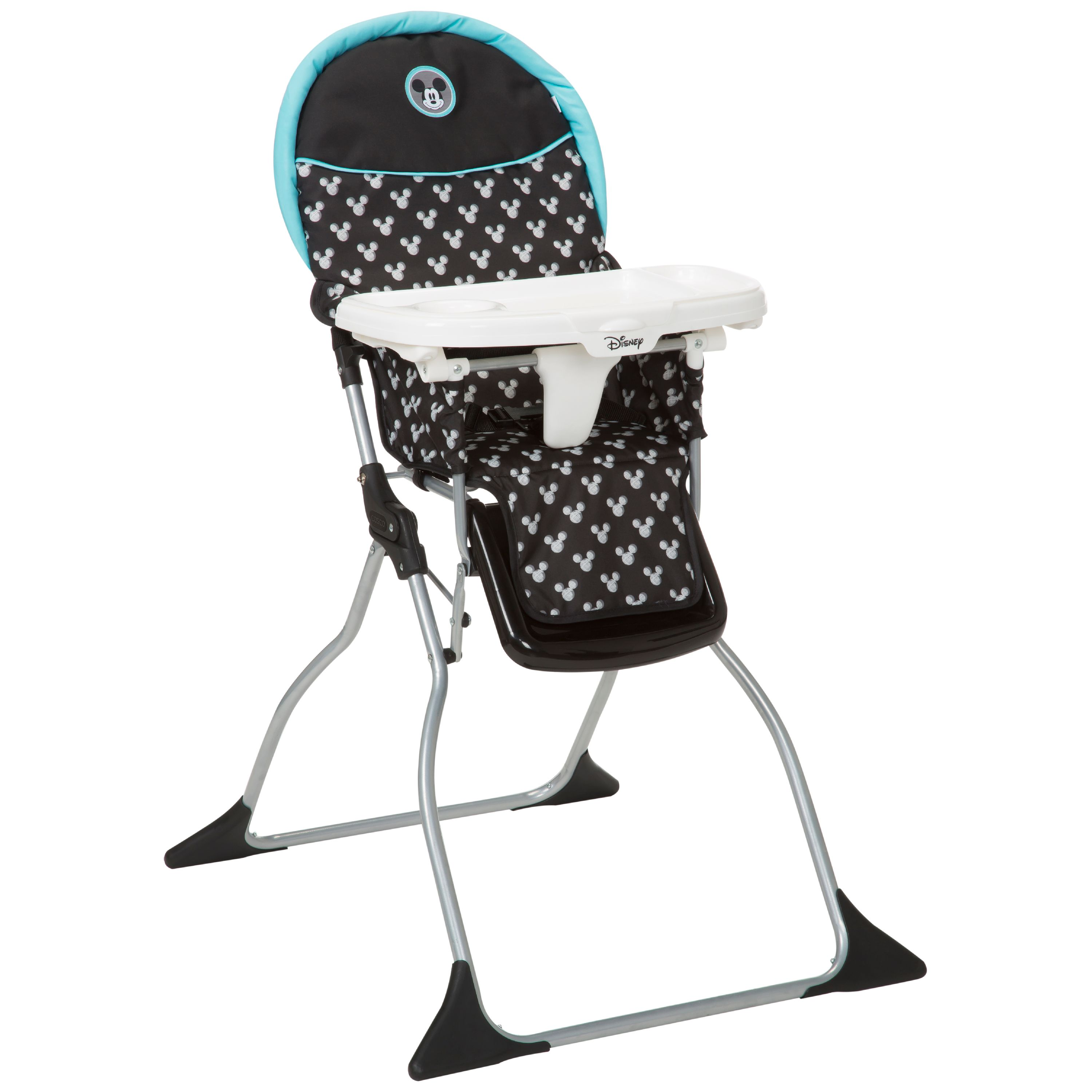 Garden Delight Disney Baby Minnie Mouse Simple Fold Plus High Chair with 3-Position Tray