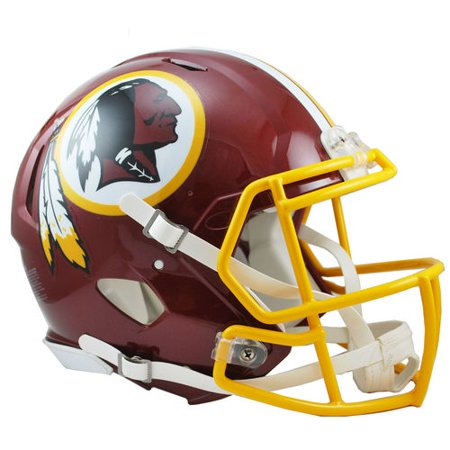 - Riddell Washington Redskins Revolution Speed Full-Size Authentic Football Helmet -
