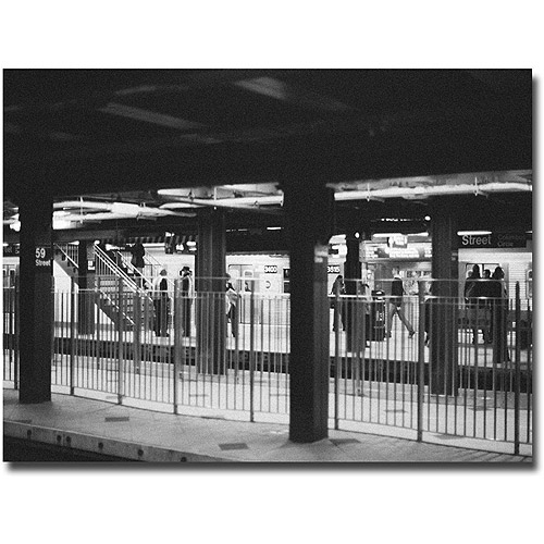 "Trademark Fine Art ""Station"" Canvas Wall Art by Ariane Moshayedi"