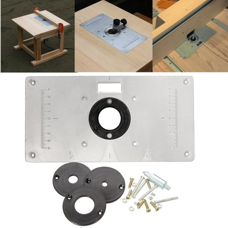 Aluminum metal sliver router table insert plate insert rings diy aluminum metal sliver router table insert plate insert rings diy woodworking greentooth Images
