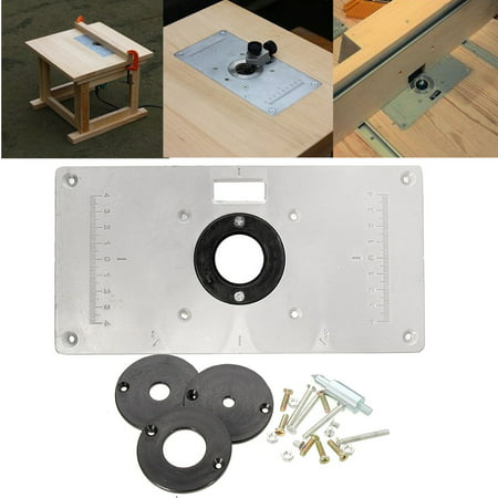 Aluminum metal sliver router table insert plate insert rings diy aluminum metal sliver router table insert plate insert rings diy woodworking keyboard keysfo
