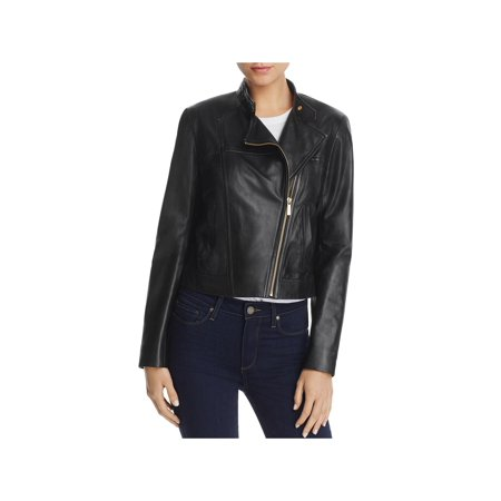 - MICHAEL Michael Kors Womens Spring Leather Motorcycle Jacket