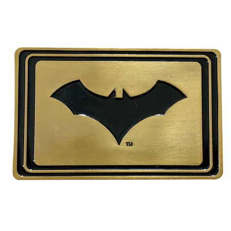 Batman Logo Belt Buckle - Batman Secret Compartment Belt Buckle | Hidden Money | Anti Theft Wallet Belt Buckle