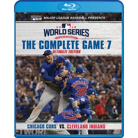 MLB: 2016 World Series The Complete Game 7 (Blu-ray)](World Series Game 7 Halloween)