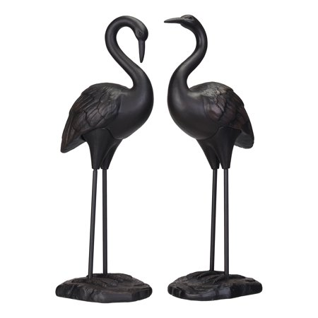 Bust Garden Statue - Better Homes & Gardens Crane Statues, Set of Two
