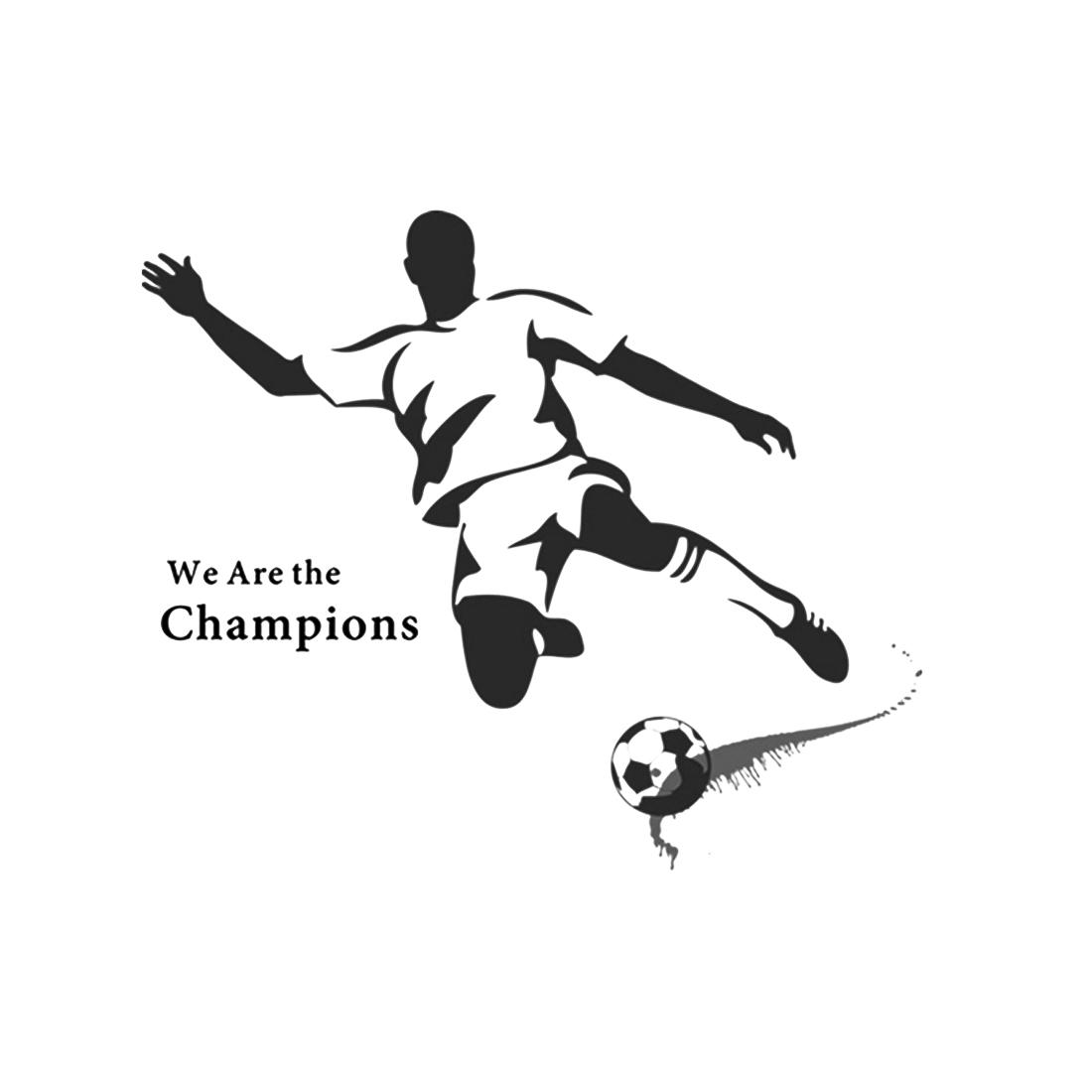 Stickers Muraux Football Interesting Wall Vinyl Decal Boy Room Name