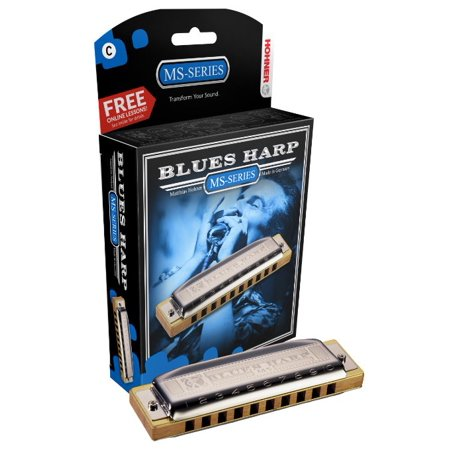 Hohner Blues Harp Harmonica, Key of G [Electronics]