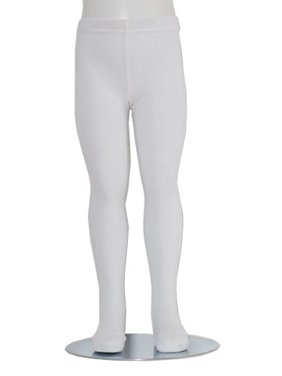 1a75fe82e30 Product Image White Piccolo Heavyweight Opaque Baby Girl Tights 0-24M