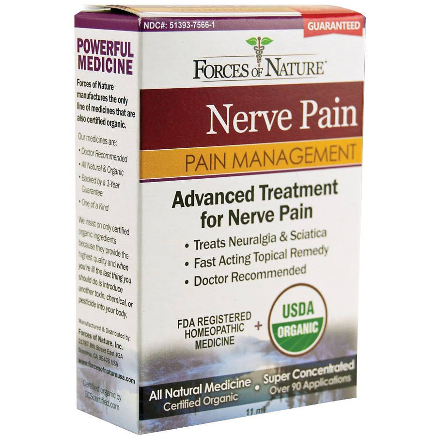 Forces of Nature Neuralgia Nerve Pain Management, 11 ML