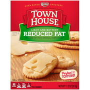 Keebler Townhouse Reduced Fat Light and Buttery Crackers, 11.2 Oz.