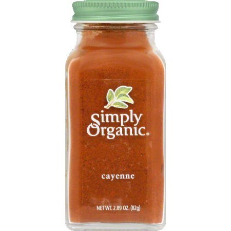 (2 Pack) Simply Organic Organic Ground Cayenne Pepper, 2.89 Oz (Cayenne Pepper Frontier)