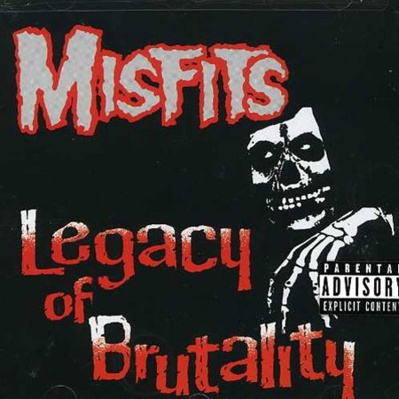 Legacy of Brutality (CD) - Halloween Misfits Legacy Of Brutality