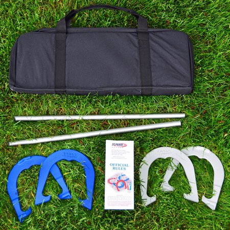 - St. Pierre Eagle Tournament Horseshoe Outfit with Nylon Bag