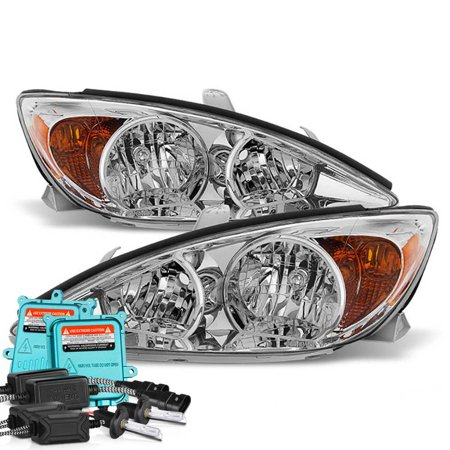 Vipmotoz Oe Style Headlight Headlamp Embly For 2002 2004 Toyota Camry Driver Penger Side