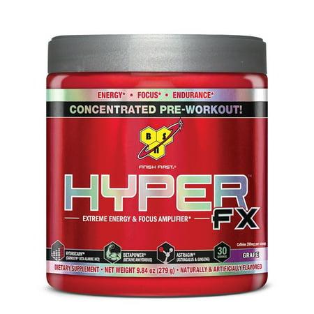 BSN HYPER FX - raisin, 11,42 oz (30 Portions)
