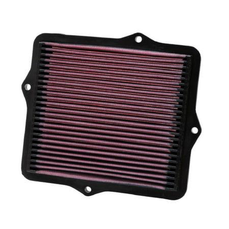 K&N Engine Air Filter: High Performance, Premium, Washable, Replacement Filter: 1991-2001 HONDA/ISUZU (Civic IV, V, VI, CX, DX, DX Hatchback, EX, LX, Si, VX, del Sol, CRX III, Civic Coupe), 33-2047 Del Sol Lx