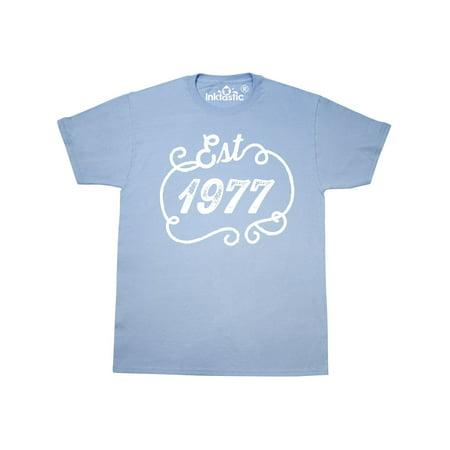 Est  1977 Birth Year Birthday T-Shirt