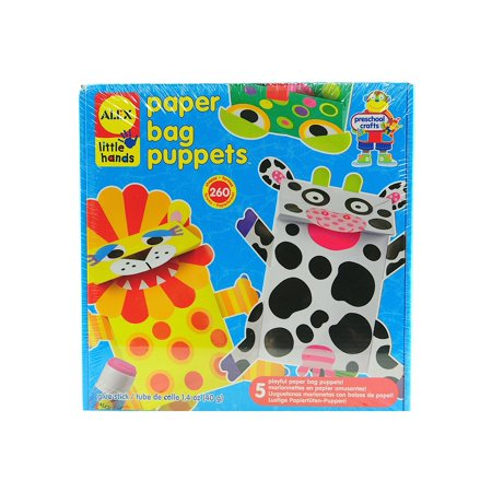 Paper Bag Puppets each (pack of 3) (Paper Bag Puppets For Halloween)