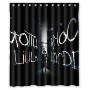 DEYOU Cowboy Bebop Corner Shower Curtain Polyester Fabric Bathroom Shower Curtain Size 60x72 inches by DEYOU