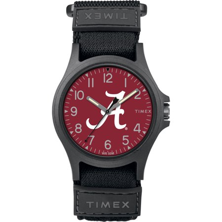 Timex - NCAA Tribute Collection Pride Men's Watch, University of Alabama Crimson Tide