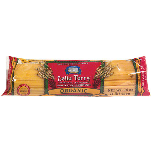 Bella Terra Organic Spaghetti, 16 oz (Pack of 12)