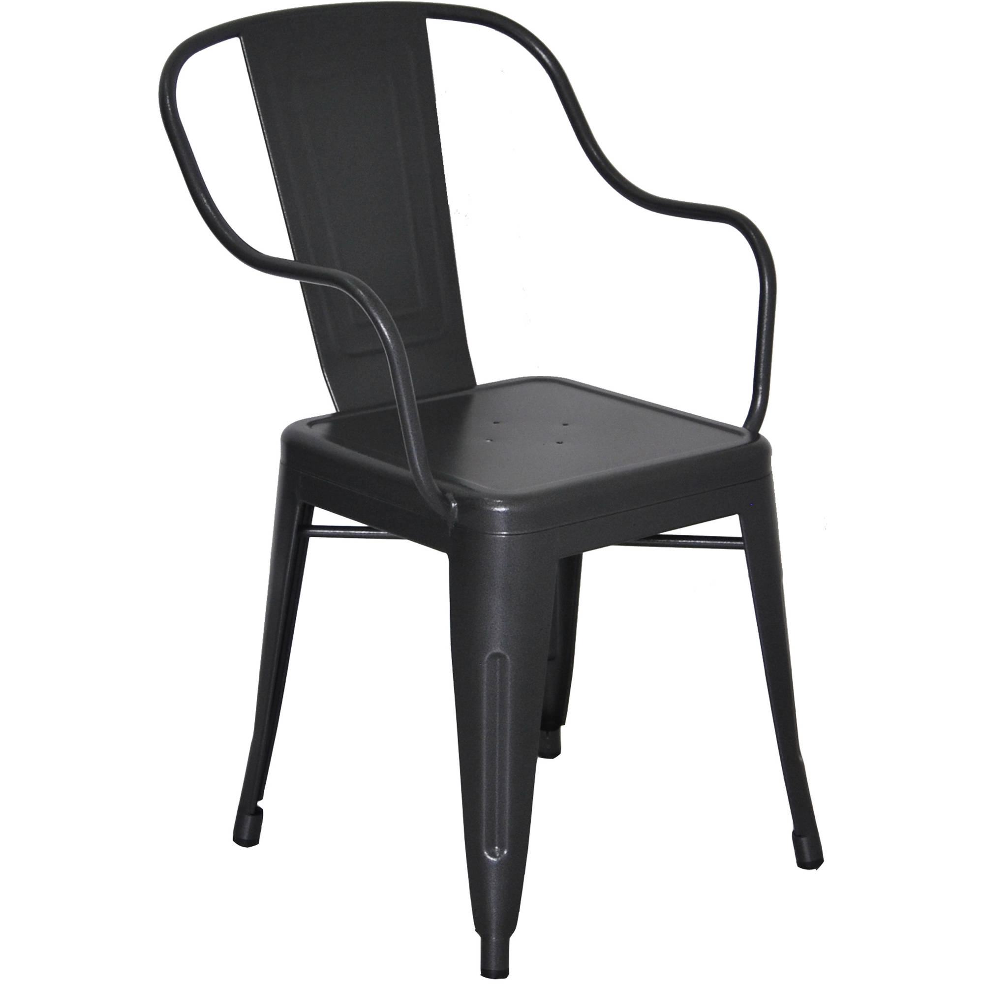 Better Homes and Gardens Camrose Farmhouse Industrial Chair, Grey
