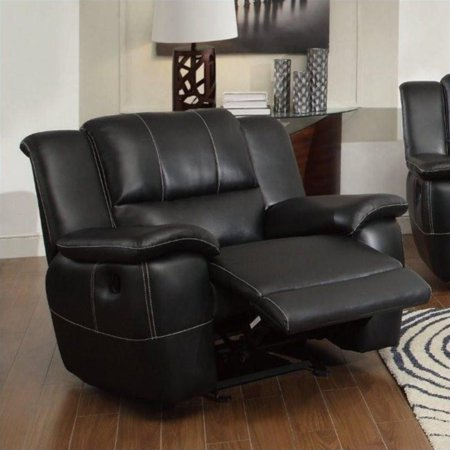 Lee Motion Glider Recliner, Black - Lee Rocker Black Cat Bone