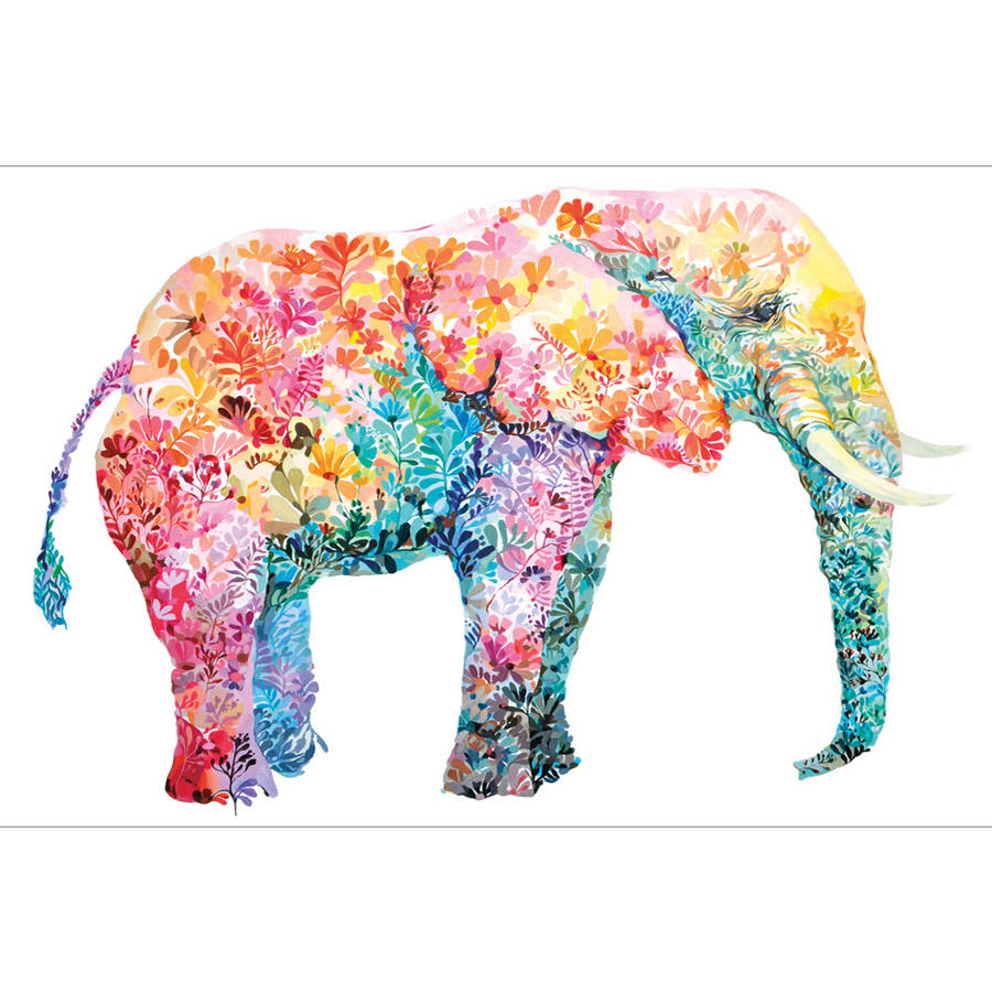 "Portfolio Canvas Decor ""Elephant Gum"" by Maria Varela Large Canvas Wall Artwork,... by Zenixx"