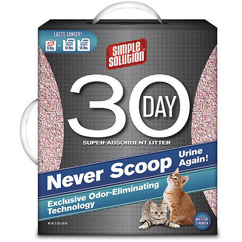 Simple Solution 30-Day Cat Litter, 9 lb