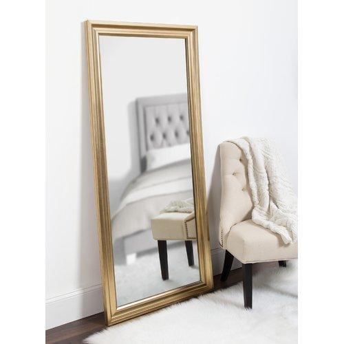 Alcott Hill Lamy Extra Large Beveled Floor Leaner Full Length Mirror