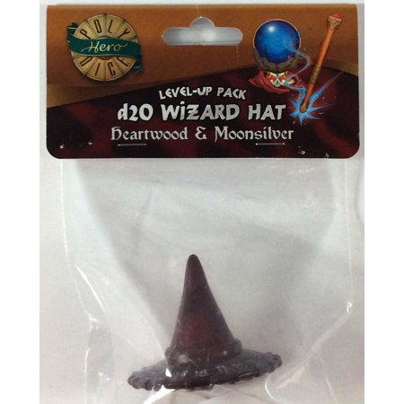 1d20 Wizard Hat - Heartwood & Moonsilver New](Wizard Hat)