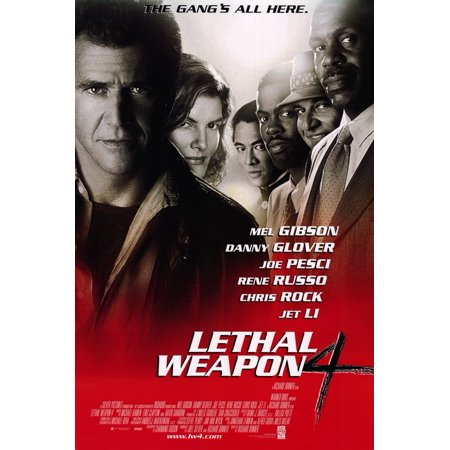 Lethal Weapon 4 (1998) 11x17 Movie Poster