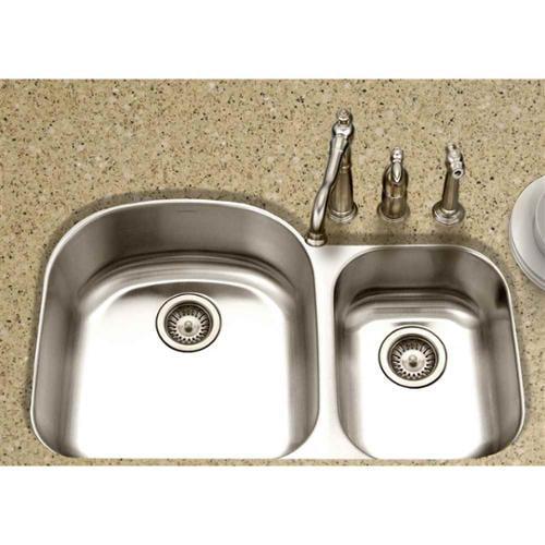 **DNP**Houzer Medallion Designer 70/30 Double Bowl Sink