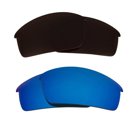 Bottlecap Replacement Lenses Bronze Brown & Blue by SEEK fits OAKLEY (C50 Sunglasses)